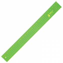 Binding Cutter Ruler - 24in x 2.5in