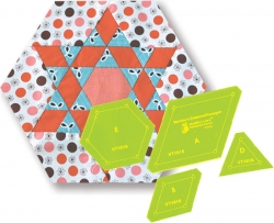 Diamond Hexagon - 8in Widest