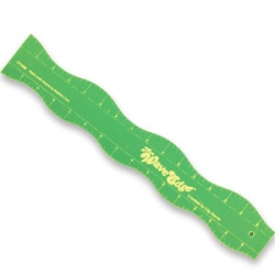 Wave Edge Ruler - 24in x 3in