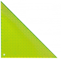 Triangle 90deg - 8in (With Grids)