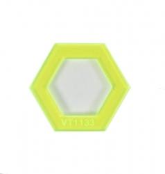 Hexagon Donut - 1.5in