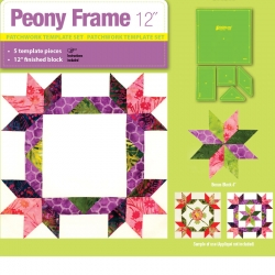 Peony Frame - 12in Finished