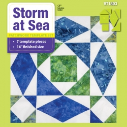 Storm at Sea - 16in Finished
