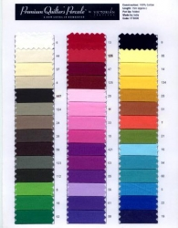 Quilters Percale Colour Pallet