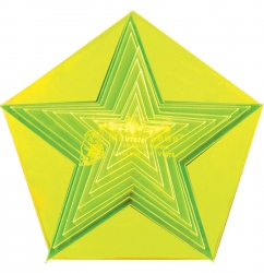 Small Star Set - 1in to 5in + 5in Pentagon