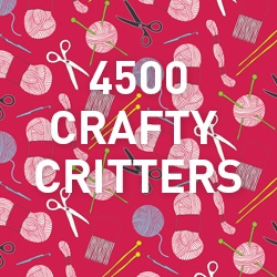 4500 Crafty Critters