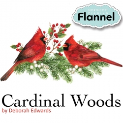 Cardinal Woods Flannel