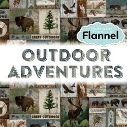 Outdoor Adventures - Flannel