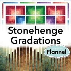 Stonehenge Gradations Flannel