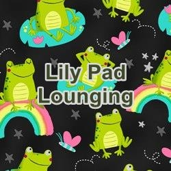 Lily Pad Lounging